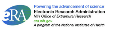 Title: eRA Tag line - Description: eRA logo with tag line Powering the Advancement of Science Electronic Research Administration era.nih.gov A program of the National Institutes of Health